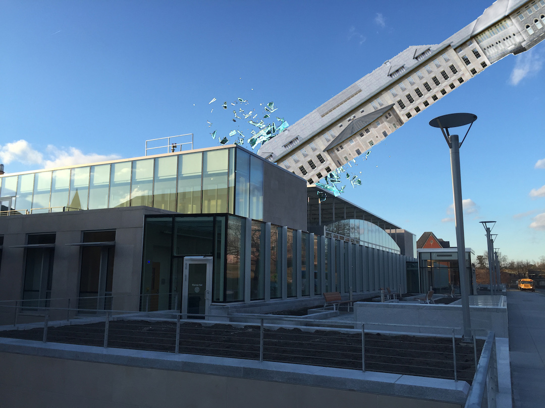 Goldwin Smith Hall Breaks Free of Glass Cage