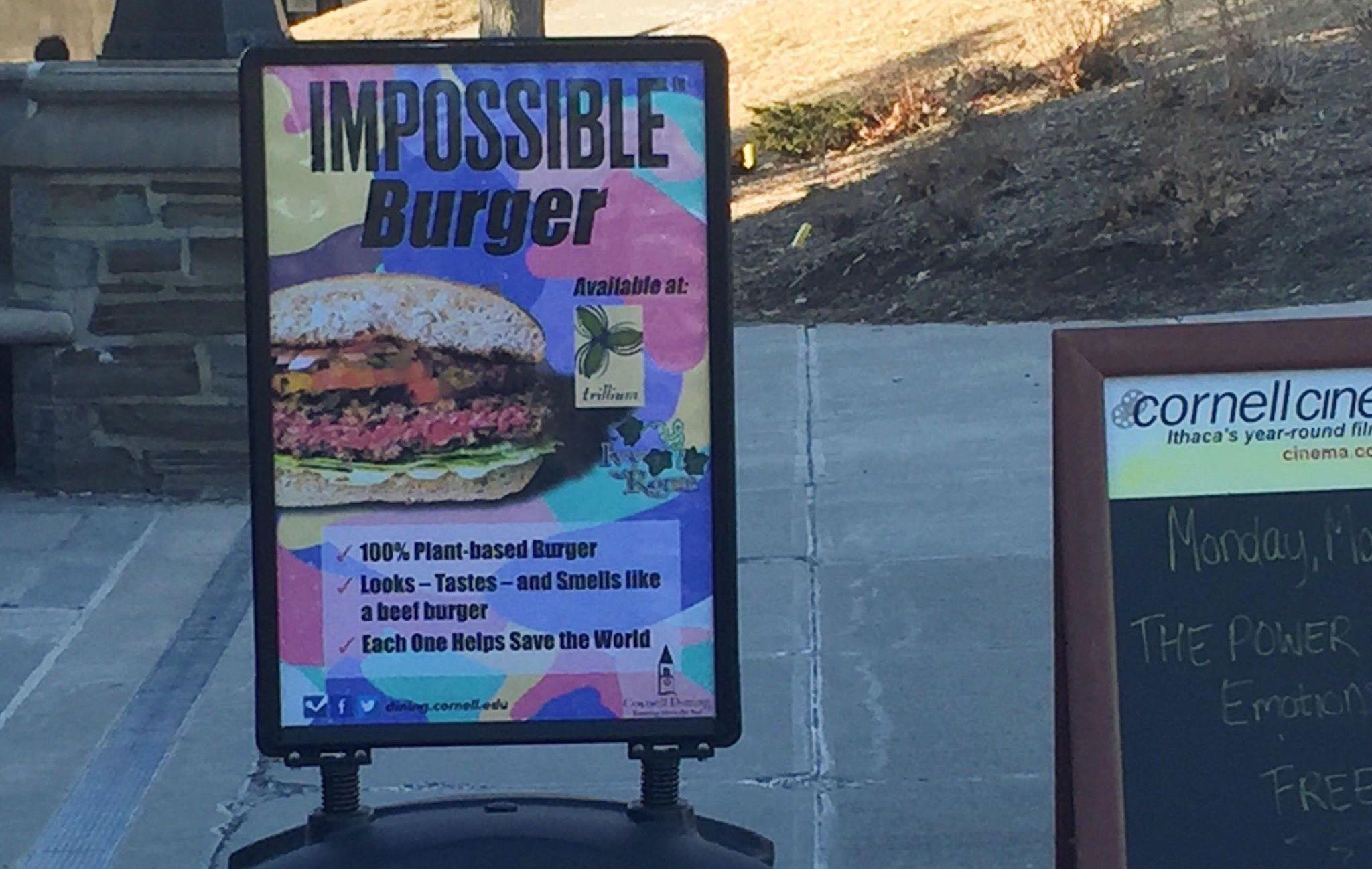 Impossible! This Average Veggie Burger Costs 10.99