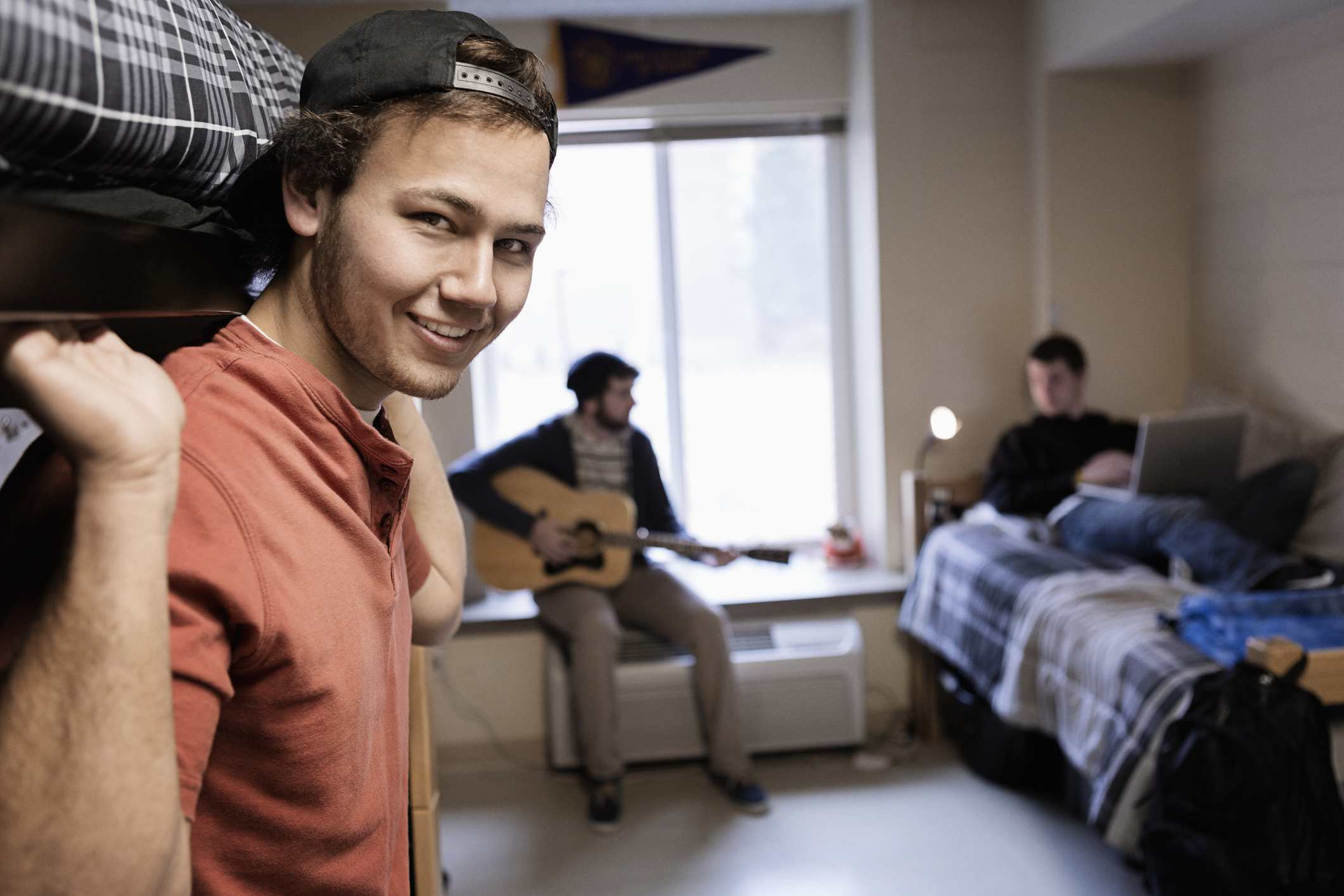 Freshman Excited to Return to Loud Roommate Sex After Week of Loud Parent Sex