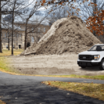 Campus to Introduce Permanent Patch Of Dirt With A Few Trucks On It