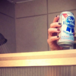 """""""I Earned This,"""" Thinks Student Indulging in Wednesday Night Shower Beer"""